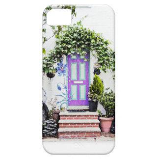 Welcoming Doorway in Purple iPhone 5 Case