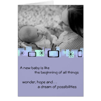 Welcoming New Baby Greeting Card