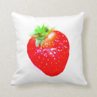 Welcoming Strawberry Pillow