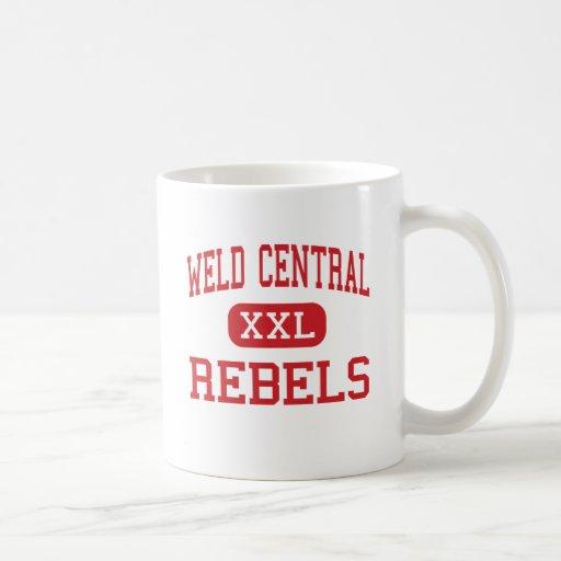 Weld Central - Rebels - High - Keenesburg Colorado Coffee Mug