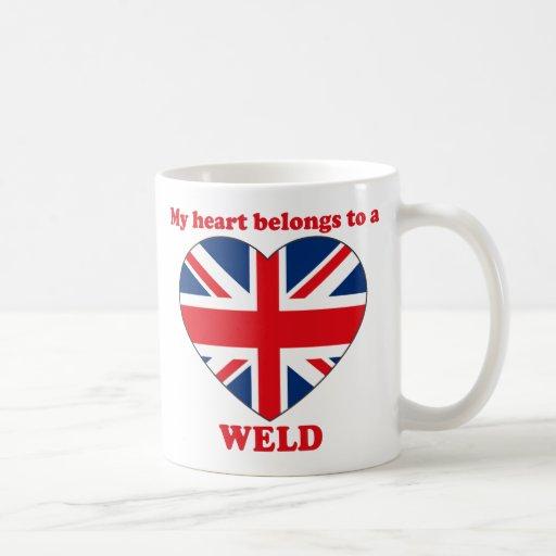 Weld Coffee Mugs