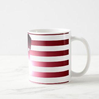 Welder and American Flag Coffee Mug