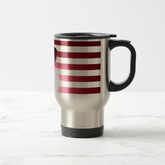Welder and American Flag Travel Mug