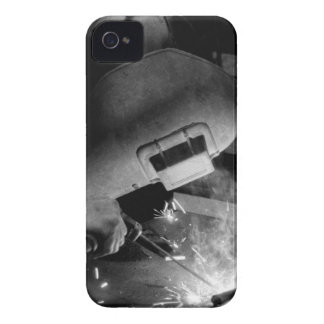Welder at Work iPhone 4/4S Case-Mate Barely There iPhone 4 Covers
