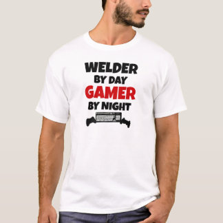 Welder by Day Gamer by Night T-Shirt