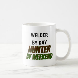 Welder by Day Hunter by Weekend Classic White Coffee Mug
