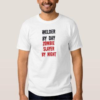 Welder By Day Zombie Slayer By Night Shirt