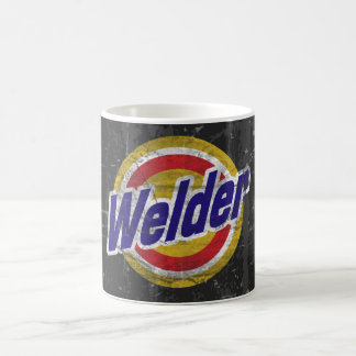 Welder Classic White Coffee Mug