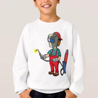 Welder Craftsman Construction Worker Repairman Sweatshirt