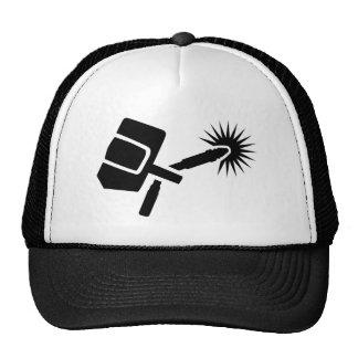 Welder equipment trucker hat