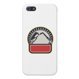 Welder Millwright Tools Circle Retro iPhone 5 Case