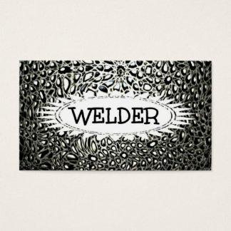 Welder Mosaic Star Business Card