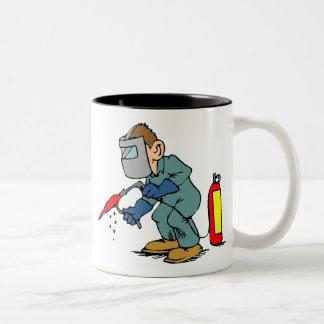 Welder Two-Tone Coffee Mug