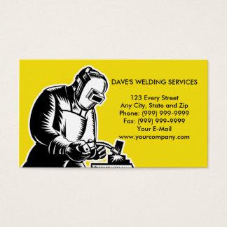 welder welding businesscard business card