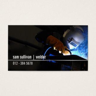 Welder Welding Sparks Trade Skills Business Card