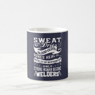 Welder Woman Coffee Mug