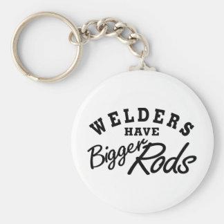 Welders Have... Basic Round Button Keychain