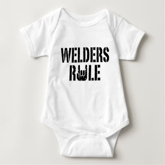 Welders Rule Baby Bodysuit