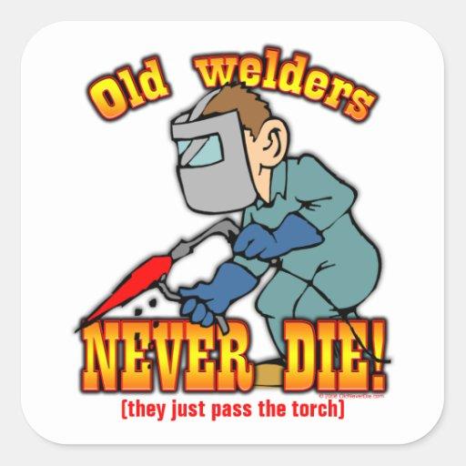 Welders Sticker