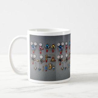 Welding bottle gauges coffee mug