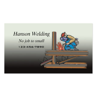 Welding business card