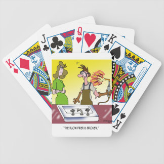 Welding Cartoon 6139 Bicycle Playing Cards