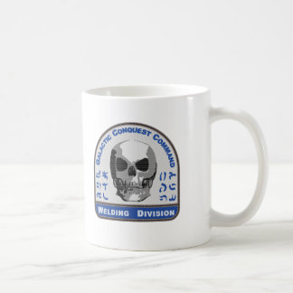 Welding Division - Galactic Conquest Command Classic White Coffee Mug