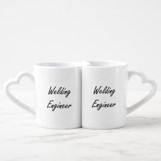 Welding Engineer Artistic Job Design Lovers Mug
