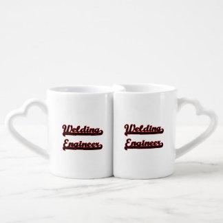 Welding Engineer Classic Job Design Lovers Mug Sets