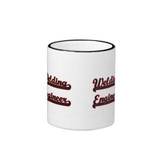 Welding Engineer Classic Job Design Ringer Mug