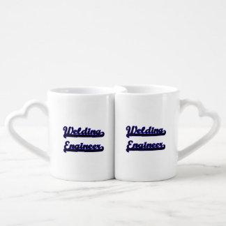 Welding Engineer Classic Job Design Couples Mug