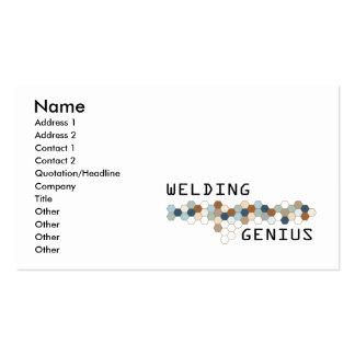 Welding Genius Business Card