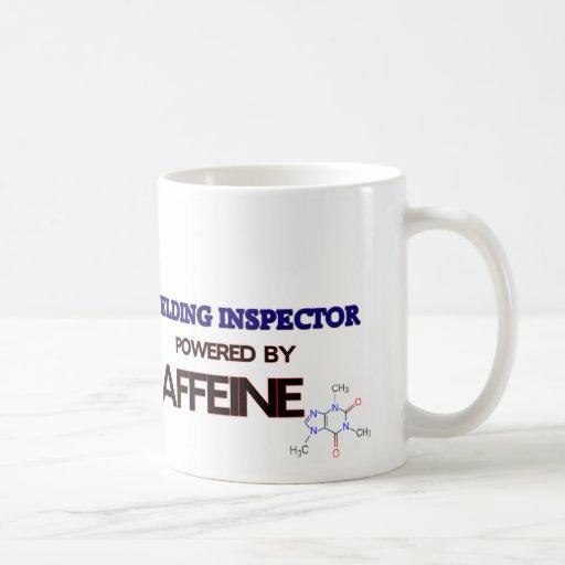 Welding Inspector Powered by caffeine Coffee Mugs