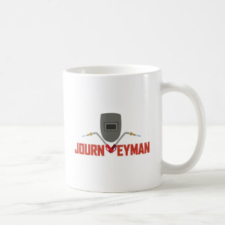 Welding Journeyman Classic White Coffee Mug
