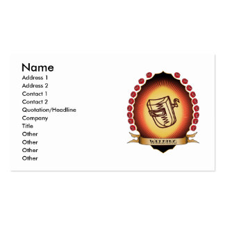 Welding Mandorla Business Card