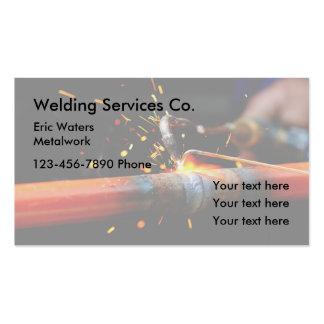 Welding Metalwork Services Business Card