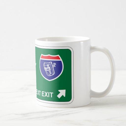 Welding Next Exit Mug