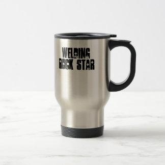 Welding Rock Star Stainless Steel Travel Mug
