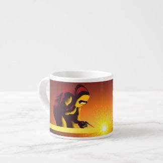Welding Worker Espresso Mug