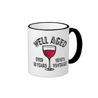 Well Aged Over 90 Years Coffee Mugs