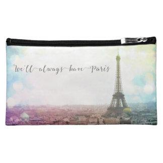 We'll Always Have Paris Zippered Bag