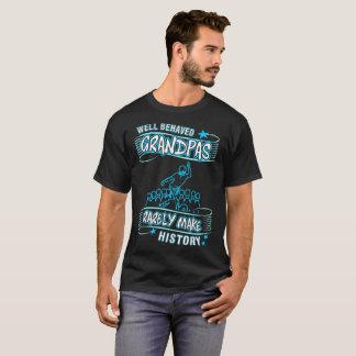 Well Behaved Gramps Rare Make History Pin Bowling T-Shirt