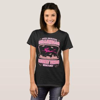 Well Behaved Grandma Rare Make History Scuba Dive T-Shirt