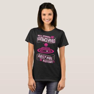 Well Behaved Grandmas Rare Make History Waterpolo T-Shirt
