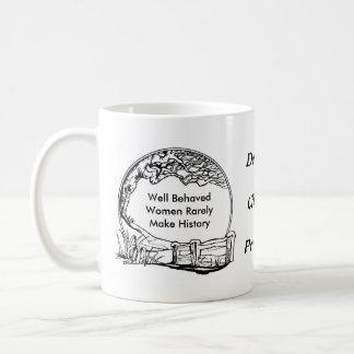 Well Behaved Women Often Make History! Basic White Mug