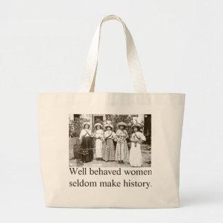 Well behaved women tote features Las Adelitas Jumbo Tote Bag