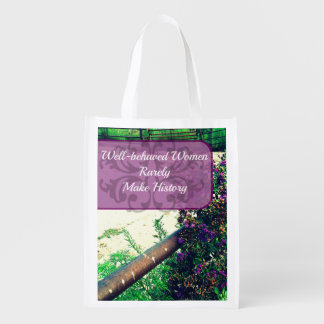 Well Behaved Women Tote Market Totes