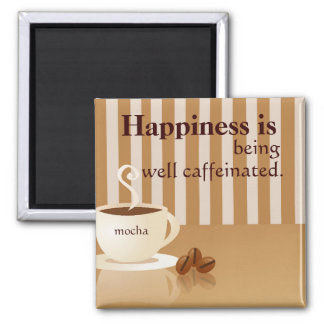Well Caffeinated Magnet for Coffee Lovers
