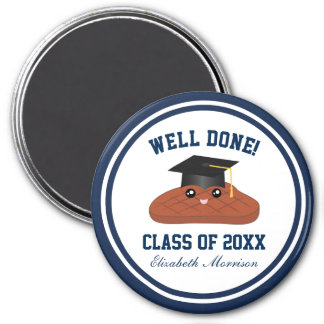 Well Done Class of 2018 Graduation Party Favors Magnet