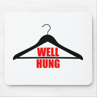 Well Hung Mouse Pad